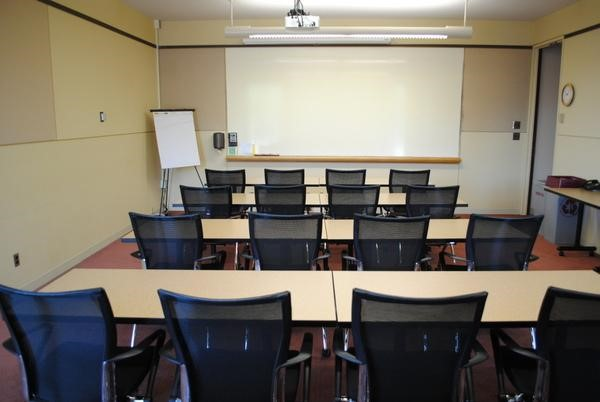 This Setup Usually Includes A Podium Or Instructors Table At The Front Of Room As Well